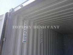 TOPDRY Calcium Chloride Container Desiccant
