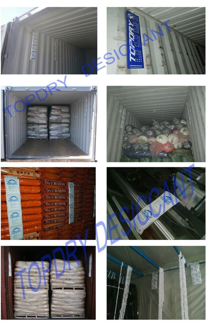 TOPDRY集装箱干燥袋 干燥剂生产厂家 5