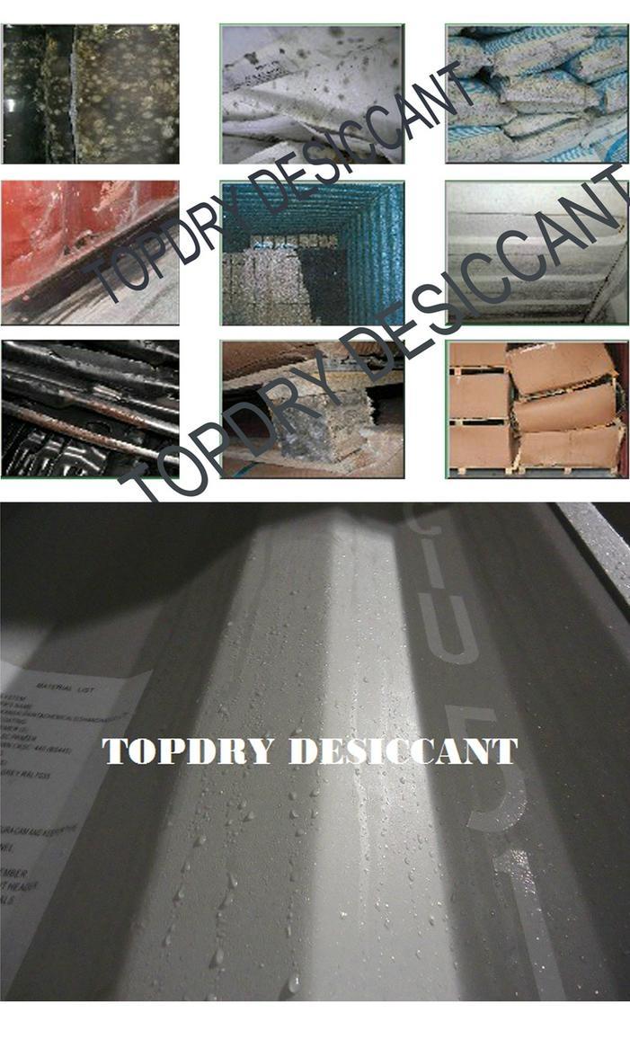 TOPDRY集装箱干燥袋 干燥剂生产厂家 2