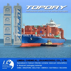 Where to Buy TOPDRY Calcium Chloride Container Desiccant