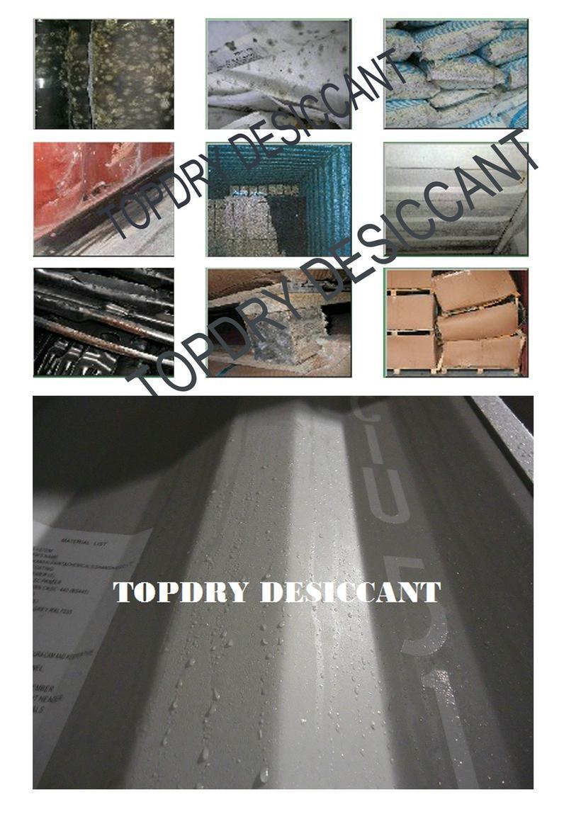 TOPDRY集装箱干燥剂吸湿率超300% 2