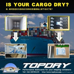 How TOPDRY Desiccant Prevent Container Condensation