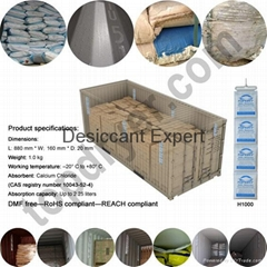 TOPDRY Desiccant For Shipping Container