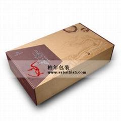 烟台长城双支礼盒
