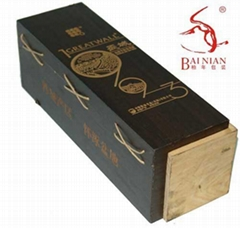 长城葡萄酒木盒