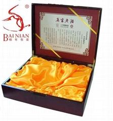 吳宮老酒木盒包裝