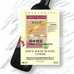 葡萄酒酒標