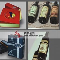 红酒酒标酒盒