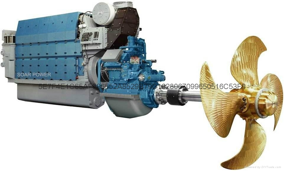 Man Marine Propulsion Engine 960~21 600kw China
