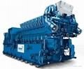 MWM Gas Generator Set (400KW ~ 4,500KW )