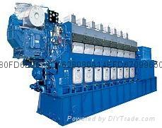 大发重油发电机组(0.45MW