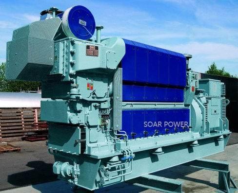 曼Man原油發電機組(0.42MW~8.7MW) 1