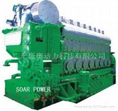 現代雙燃料發電機組(2.7MW-25MW)