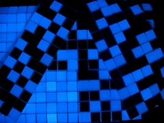 luminous glass mosaic
