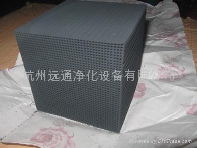 有機廢氣專用蜂窩狀活性炭 1