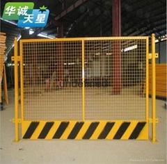坑邊防護網