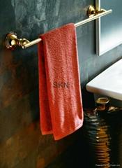 Bathroom accessories - Single towel rail