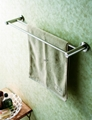Bathroom accessories - Double towel rail