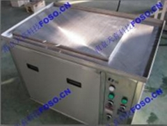 Single trough standard ultrasonic cleaner