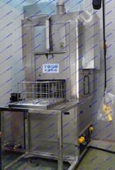 Single chamber multifunctional ultrasonic cleaning rinsing dryer