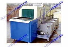 Continuous Through Spray Cleaning Rinser