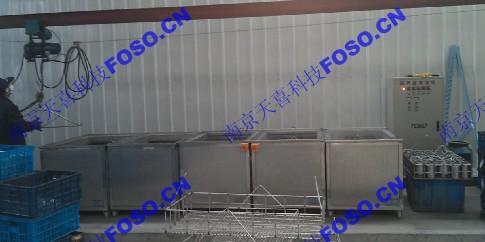 汽車配件除蠟超聲波清洗機-TOSO25-60/5南京艾科 1