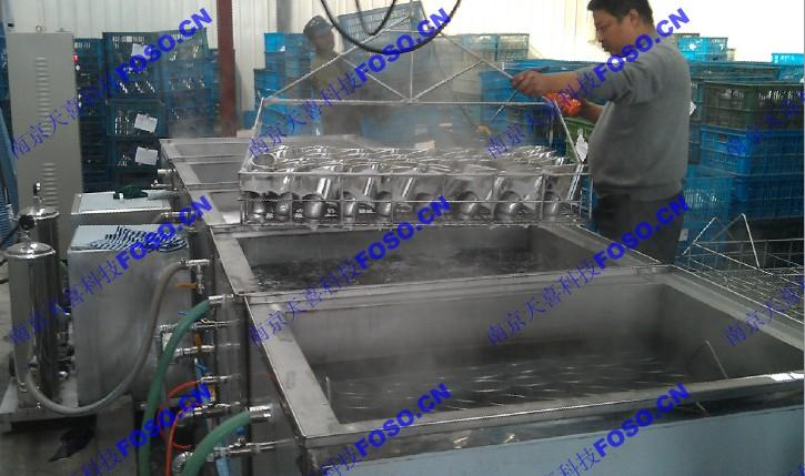 汽車配件除蠟超聲波清洗機-TOSO25-60/5南京艾科 2
