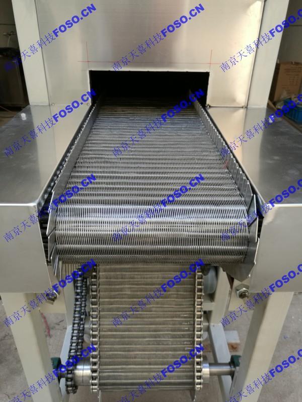 隧道式热风循环烘箱网带式干燥处理设备-AICO南京艾科 1
