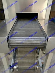 Tunnel-type hot air circulating oven mesh belt drying equipment