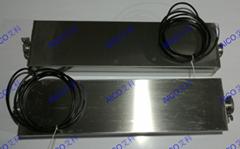 Pipeline-type ultrasonic degrading equipment