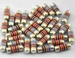 LSR固定電阻、圓柱型電阻、無引線電阻