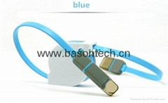 Retractable usb data cable Quality TPE Wire USB Connector USB Charge Sync Cable