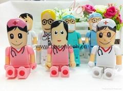 Doctor Nurse model USB 2.0 Flash Memory