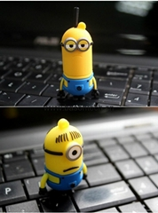 Pen drive Minion USB Flash Drive on hot sale flash card pendriver