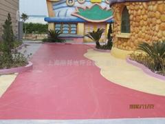 方特欢乐世界主题公园(汕头)压花地坪