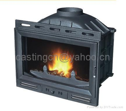 cast iron wood burning fireplace insert china
