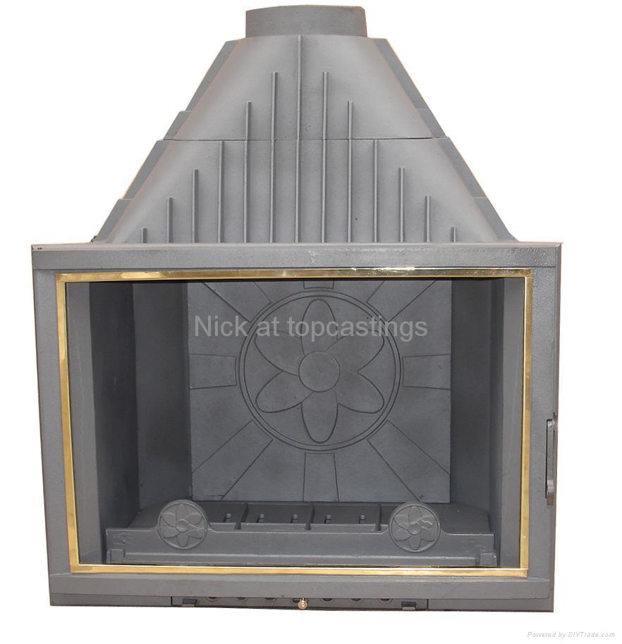 cast iron wood burning fireplace insert (China Manufacturer ...