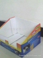彩印纸板展示盒