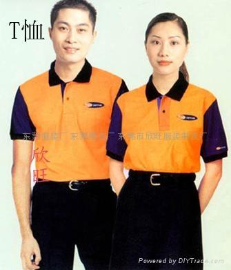 時尚工作T卹 2