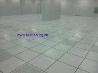 全鋼機房防靜電架空活動地板 4