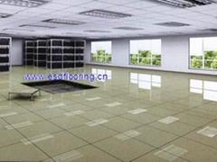 全钢陶瓷面防静电机房架空活动地板