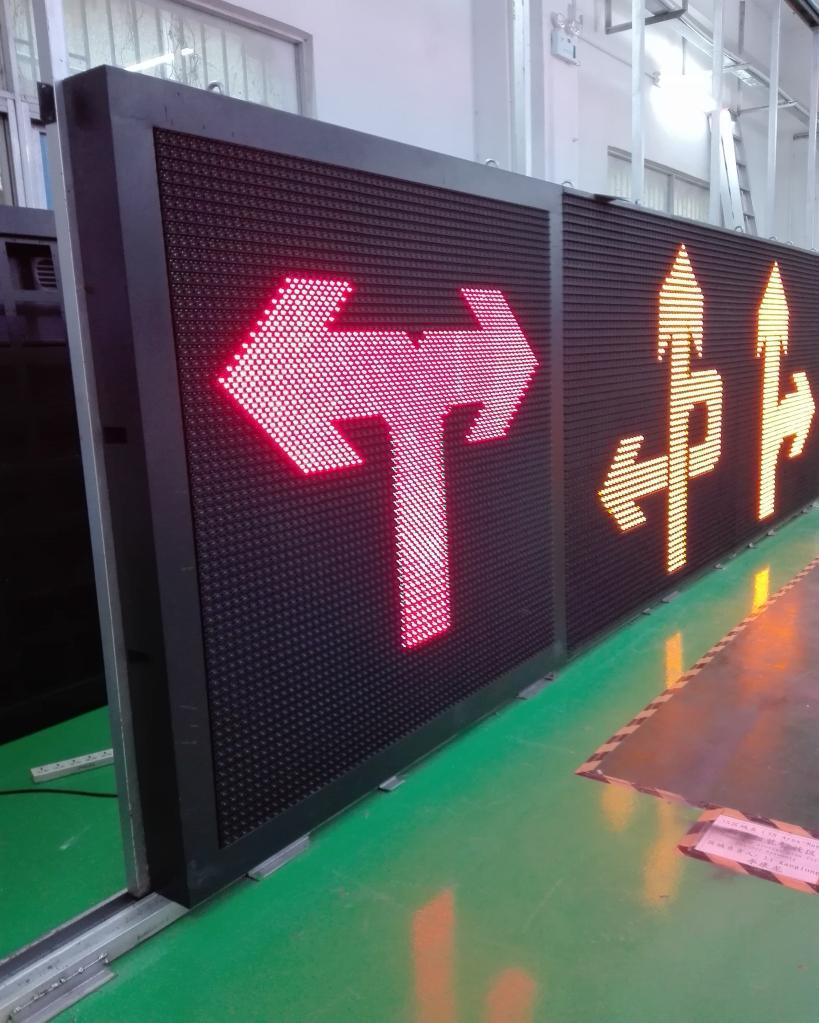 European Standard for Variable Message Traffic Signs EN12966 2