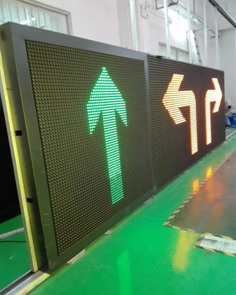 European Standard for Variable Message Traffic Signs EN12966 3