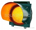 """H-8951 12"""" Solar Traffic Flashing Warning Light"""