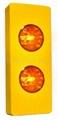 H-952-2 Solar Twin-Flasher Pavement Edge Warning Light