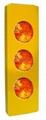 H-952-3 Solar Triple-Flasher Road Divider Hazard Marker