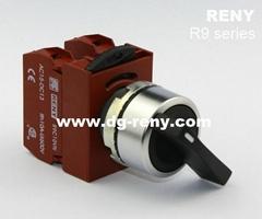 臺灣原裝進口22mm長柄選擇開關R2SNL