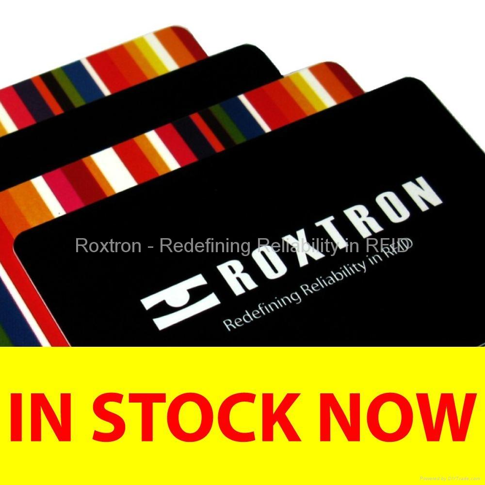 ROXTRON MIFARE 1K + TK4100 Dual Frequency PVC ISO Card