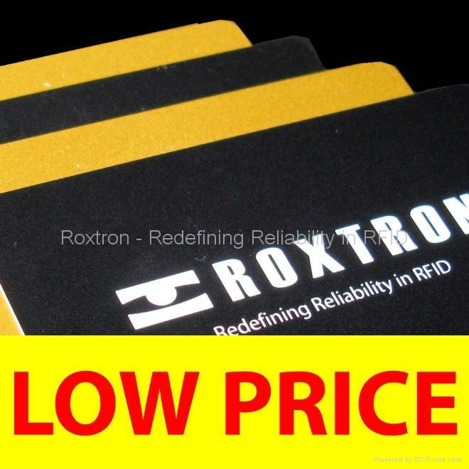 ROXTRON ICODE SLI + T5577 Dual Frequency PVC ISO Card