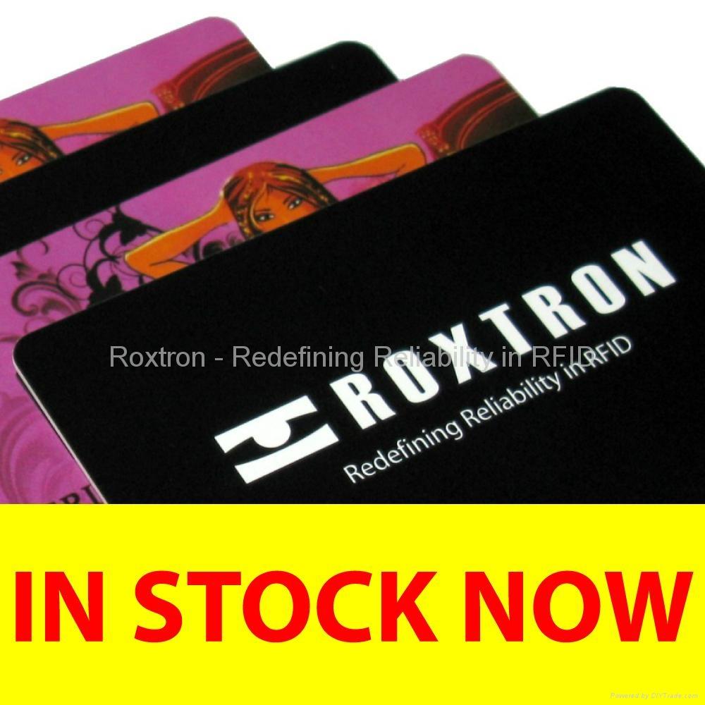 ROXTRON EM4200 + UHF Class 1 Gen2 Dual Frequency PVC ISO Card